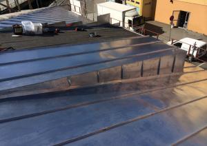 Båndtekking av tak